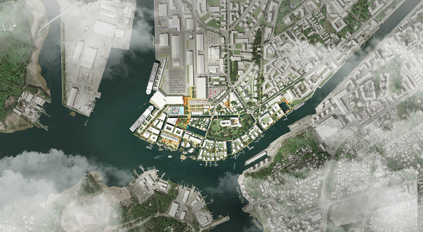 Archipelago-go-grow - our competition vision for Linnanniemi, Finland