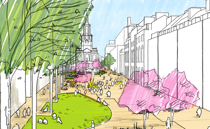 A traffic-free vision for London's historic Strand Aldwych