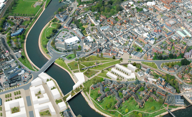Exeter plans transformation through housing growth