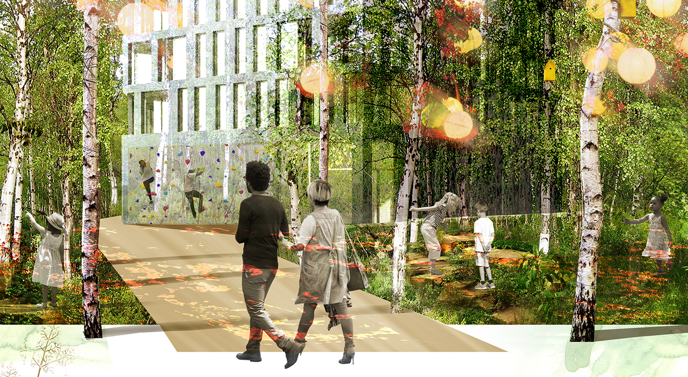 Working with Alison Brooks Architects, Lendlease and LCR to create fantastical shared open space in IQL