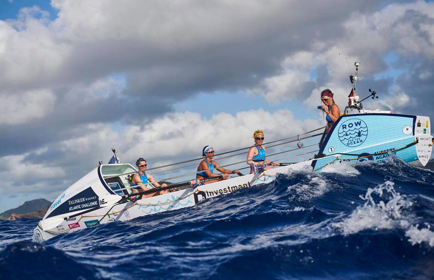 Rowing for our Ocean