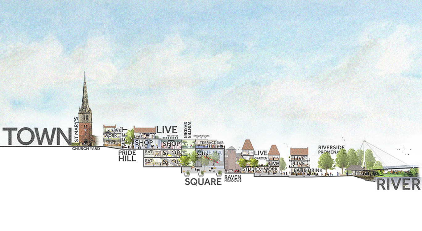 A big, bold new plan sets out how Shrewsbury could look by 2036.