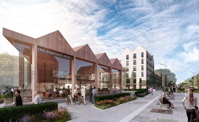 Sighthill regeneration takes leap forward