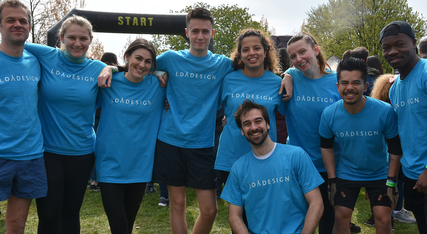 Our London team are tough mudders