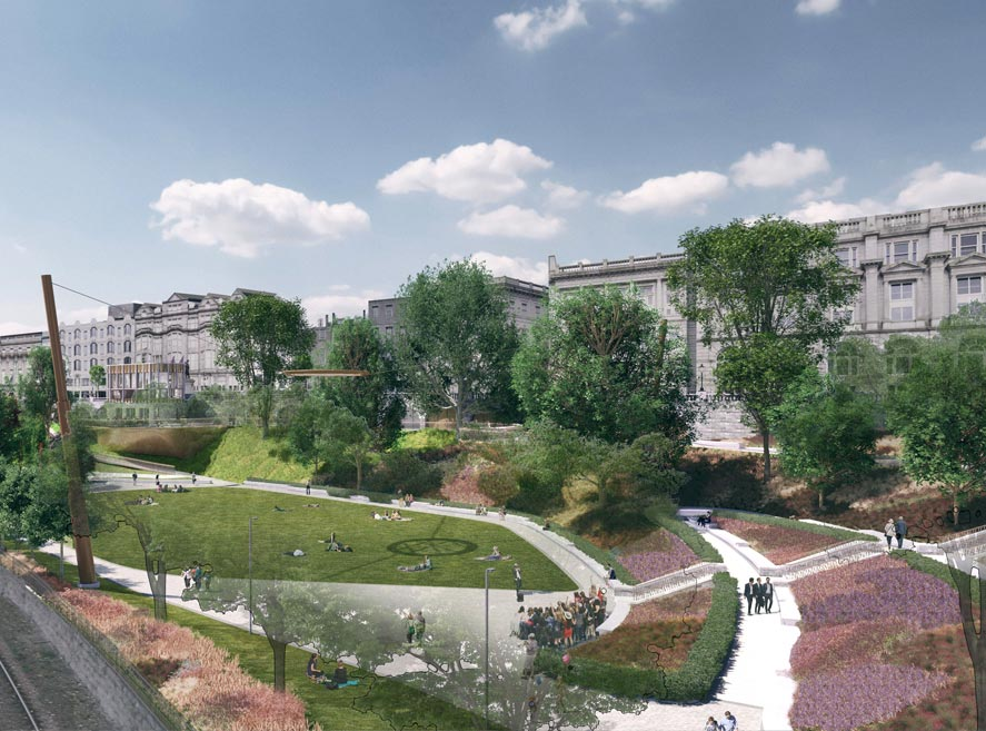 Work gets underway later this year to transform Union Terrace Gardens