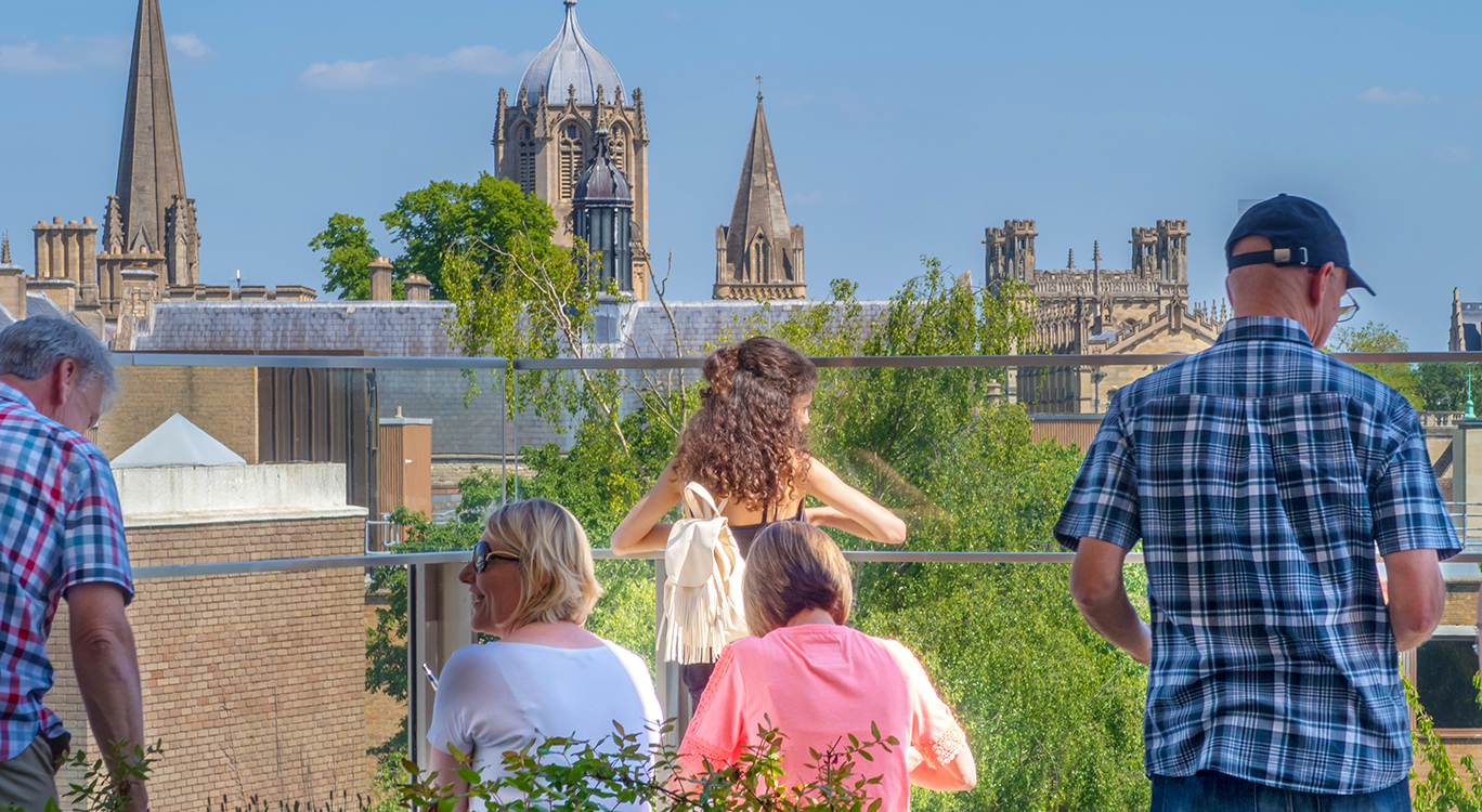 The views from Westgate Rooftop Gardens - shortlisted for a 2020 Pineapple award