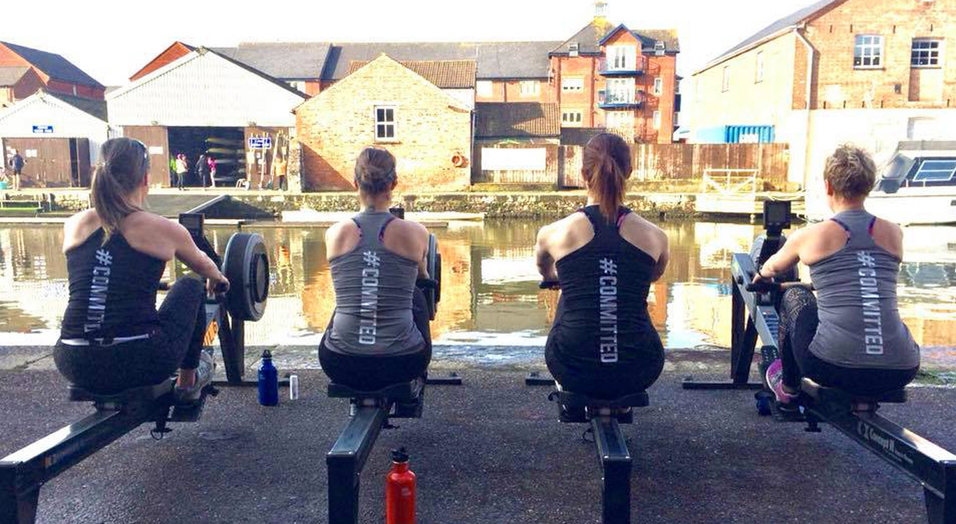 LDA Design's Kirsty Barker is rowing for the ocean.